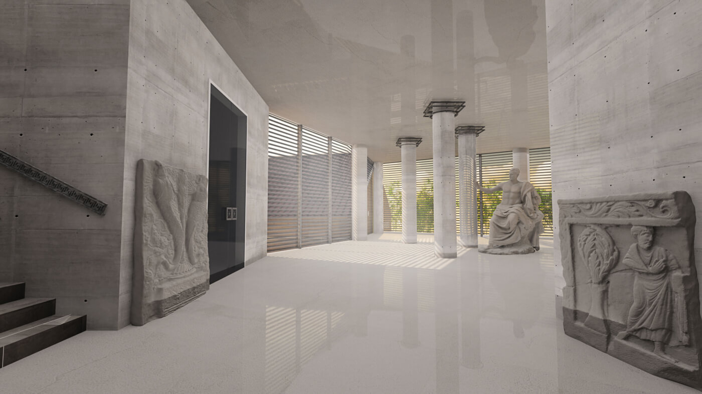 Nova muzejska zgrada, Niš
